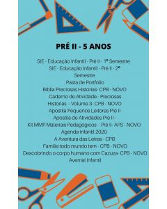 Lista de Livros - Pré II