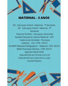 Lista de Livros - Maternal