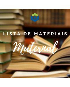 Lista de Materiais - Maternal